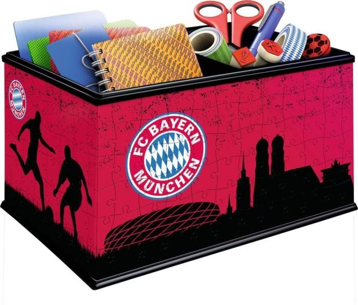 RAVENSBURGER Aufbewahrungsbox Spiele FC Bayern München Puzzle