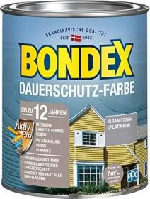 Bondex Dauerschutz-Farbe Holzschutzmittel granitgrau, 750ml (329874)