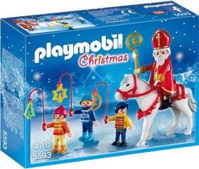 playmobil Weihnachten - St. Nikolaus mit Laternenzug (5593)