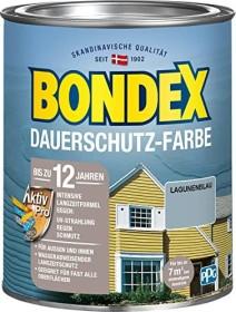 Bondex Dauerschutz-Farbe Holzschutzmittel lagunenblau, 750ml (372206)