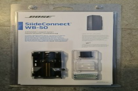 Bose SlideConnect WB-50 schwarz, Stück (716402-0010)