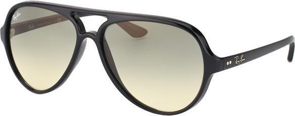 ray ban sonnenbrille cats 5000 uv400 schwarz