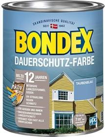 Bondex Dauerschutz-Farbe Holzschutzmittel taubenblau, 750ml (329880)