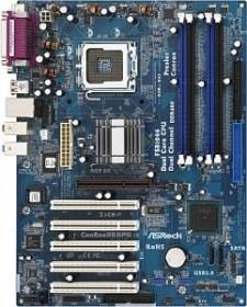 ASRock ConRoe865PE (dual PC-3200 DDR)