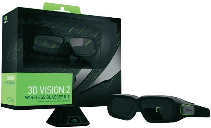 NVIDIA GeForce 3D Vision 2, Wireless Kit (942-11431-0009-001)