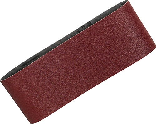 Red Makita P-36924 Makita MAKITA Sanding Belt 100 x 610 MM Grit Size K120 5 Belts