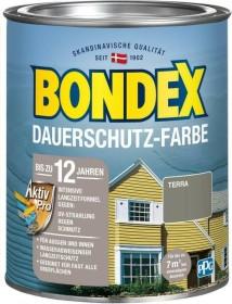 Bondex Dauerschutz-Farbe Holzschutzmittel terra, 750ml (372210)