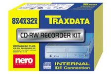Traxdata CD-RW 8432 Plus kit