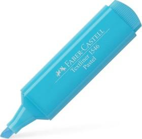 Faber-Castell Textliner 46 Pastell Textmarker, lichtblau, 10er-Pack