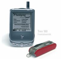 Handspring Treo 180, dual-band, 16MB, mini-Keyboard