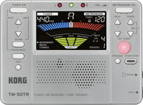 Korg TM-50TR silver