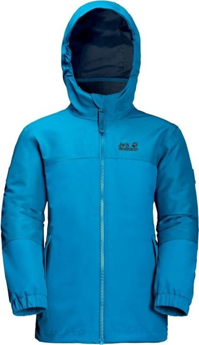 ca824eb3a7d Jack Wolfskin Girls Iceland 3in1 Jacket icy laky blue (Junior) (1605263-1103