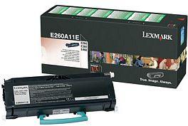 Lexmark Return Toner E260A11E schwarz