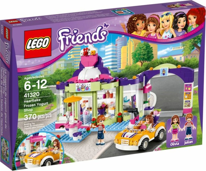 Lego Friends Heartlake Frozen Yogurt Shop 41320 Starting From