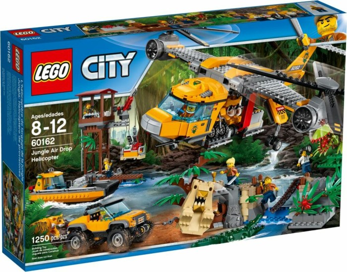 LEGO City Jungle Explorers - Jungle Air Drop Helicopter (60162)