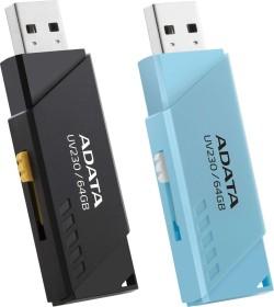 ADATA DashDrive UV230 blau 64GB, USB-A 2.0 (AUV230-64G-RBL)