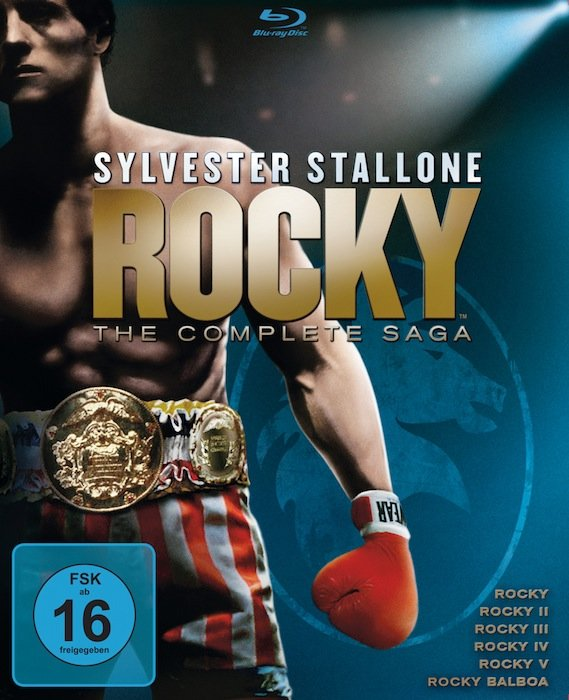 Rocky - The Complete Saga Box (Filme 1-6) (Blu-ray)