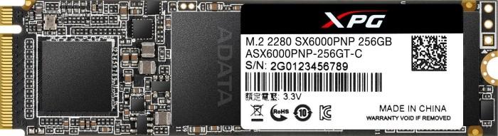 ADATA XPG SX6000 Pro 256GB, M.2 (ASX6000PNP-256GT-C)