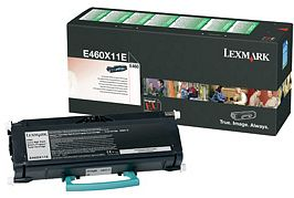 Lexmark Toner E460X21E black high capacity