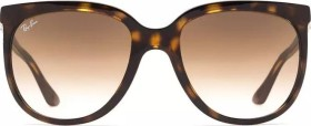 Ray-Ban RB4126 Cats 1000 57mm havana/light brown gradient (Damen) (RB4126-710/51)