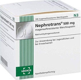 Nephrotrans 500mg magensaftresistente Weichkapseln, 100 Stück