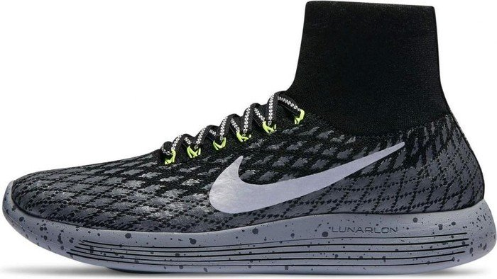 Nike Herren 849664 001 Traillaufschuhe  40.5 EUSchwarz (Black / Metallic Silver / Dark Grey / Stealth)