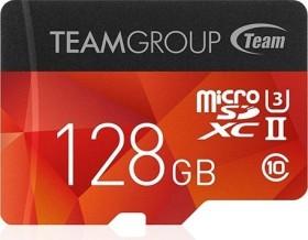 TeamGroup Xtreem R250/W100 microSDXC 128GB Kit, UHS-II U3, Class 10 (TCUSDX128GUHSII44)