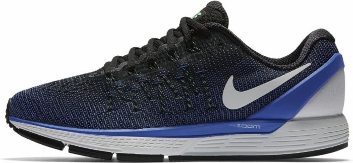 various colors b212d 3498a Nike Air Zoom Odyssey 2 black medium blue electro green summit white (