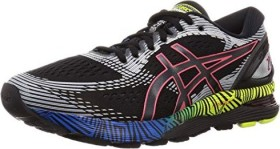 Asics Gel-Nimbus 21 LS black/electric blue (Damen) (1011A632-001)
