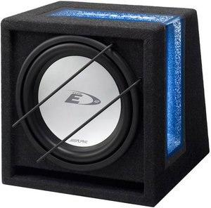 Alpine SBE-1243BR bass reflex enclosure