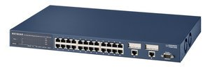 Netgear FSM726S, 26-Port, managed