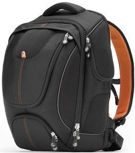 "Booq Boa flow XL 17"" backpack black/orange (BFXL-BLK)"