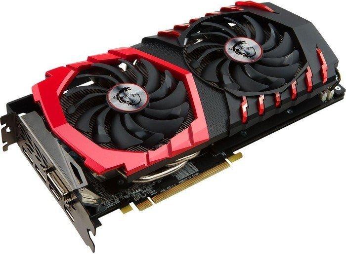 MSI Radeon RX 480 Gaming X 8G, 8GB GDDR5, DVI, 2x HDMI, 2x DisplayPort (V341-003R)