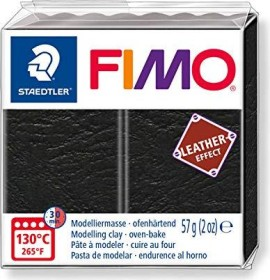 Staedtler Fimo Soft 57g leather effect schwarz (8010-909)