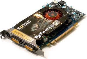 Zotac GeForce 8600 GTS AMP!, 256MB DDR3, 2x DVI, TV-out, PCIe (ZT-86SE25P-FPL)