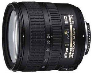 Nikon AF-S 24-85mm 3.5-4.5G IF-ED schwarz (JAA780DA)