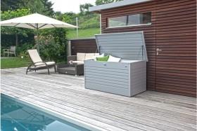 Biohort FreizeitBox 100 Gartenbox silber-metallic (64010)