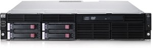 HP ProLiant DL180 G6 4LFF, 1x Xeon DP E5504, 4GB RAM, 160GB (487502-421)