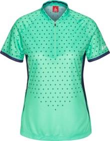 Löffler Bike Rise Up Shirt half zip kurzarm mint (Damen)