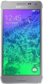 Samsung Galaxy Alpha SM-G850F silber