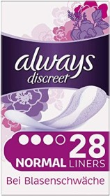 Always Discreet normal incontinence pads, 28 pieces
