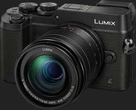 Panasonic Lumix DMC-GX8 schwarz mit Objektiv Lumix G Vario 12-60mm 3.5-5.6 ASPH Power OIS (DMC-GX8M)