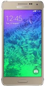Samsung Galaxy Alpha SM-G850F gold
