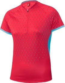 Löffler Bike Rise Up Shirt half zip kurzarm flamenco (Damen)