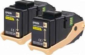 Epson Toner 0602 gelb, 2er-Pack (C13S050606)