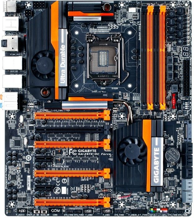 Gigabyte GA-Z87X-OC Force