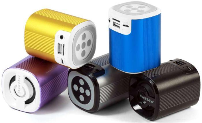Technaxx MusicMan Grenade Bluetooth Soundstation BT-X4 silber