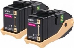 Epson Toner 0603 magenta, 2er-Pack (C13S050607)