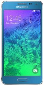 Samsung Galaxy Alpha SM-G850F blau