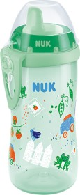NUK Kiddy Cup Gartenboy green bottle 300ml (10255569)